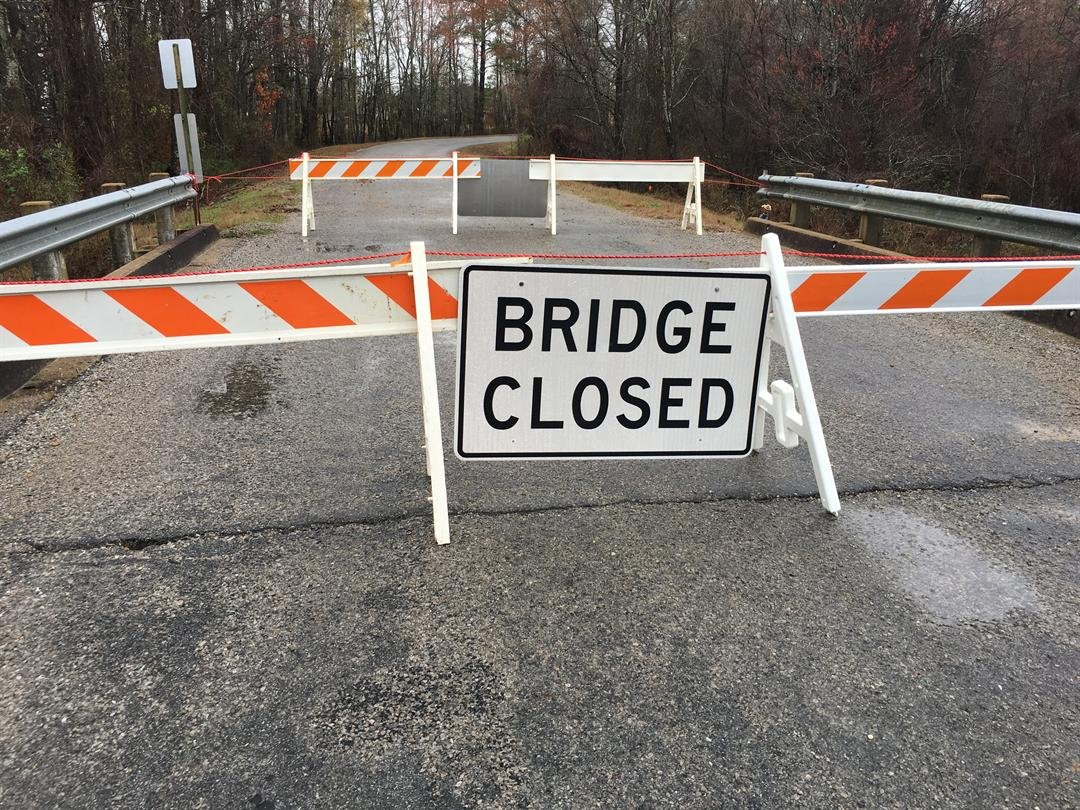 Bridge Closure List Released Many Counties Affected WTVA News - Us how many counties